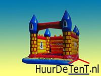 Springkussen kasteel 4x5 meter - huurdetent.nl