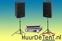 geluidset alleen versterker met speakers_klein
