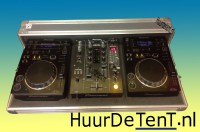 CDJ350 Pioneer DJSET - Huurdetent.nl