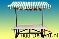 de houten marktkraam voor braderie sfeer markt markten deze nostalgische marktkraam is te huur uniek en leverbaar in 4  kleuren. verhuren Alkmaar Noord-Holland  houtenmarktkraam verhuur verhuurder